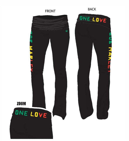 Bob Marley One Love Yoga Pants