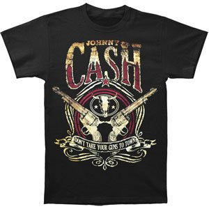 Johnny Cash Guns to Town T-Shirt