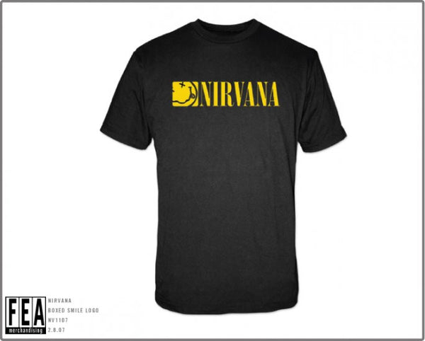 Nirvana Boxed Smile T-Shirt