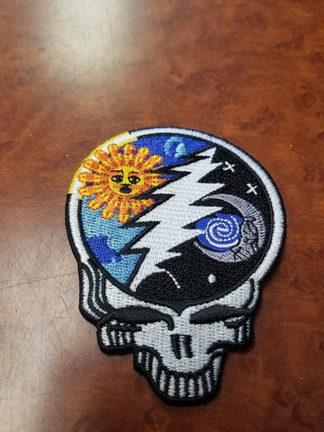 Sun/Moon Stealie Patch