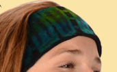 Tie Dye Stretchy Velvet Headband