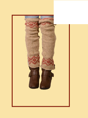 Keepin' It Natural Hemp Wool Leg Warmers