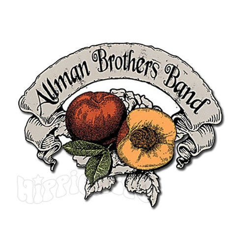 Allman Brothers Band Open Peach Sticker
