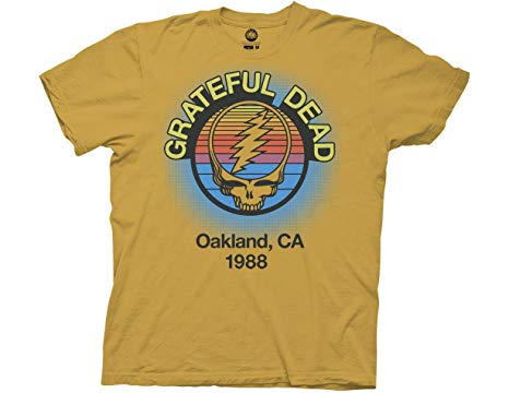 Mens Grateful Dead Oakland 1988 T-Shirt