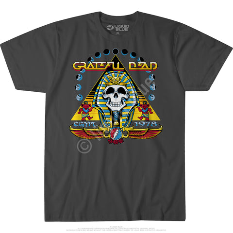 Mens Grateful Dead Egypt '78 T Shirt