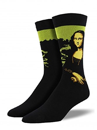Womens Mona Lisa Bamboo Crew Socks