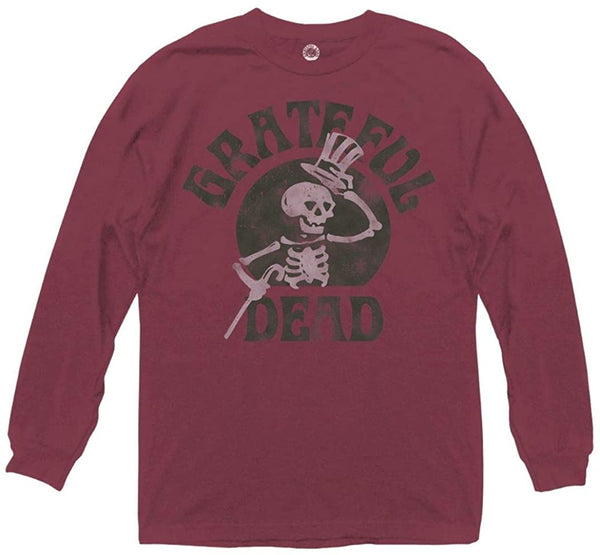 Grateful Dead Unisex Top Hat Long Sleeve T-Shirt