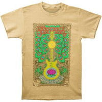 Santana Lotus Guitar T-shirt