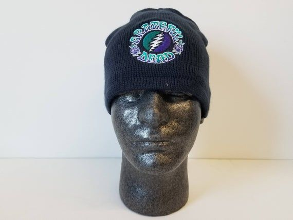 Grateful Dead Bolt Fleece Lined Beanie