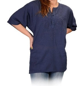 Womens Short Sleeve Blouse