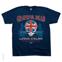 Wembley Empire Pool Grateful Dead London '72 T-shirt