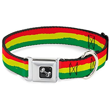 Rasta Stripe Authentic Seatbelt Belt
