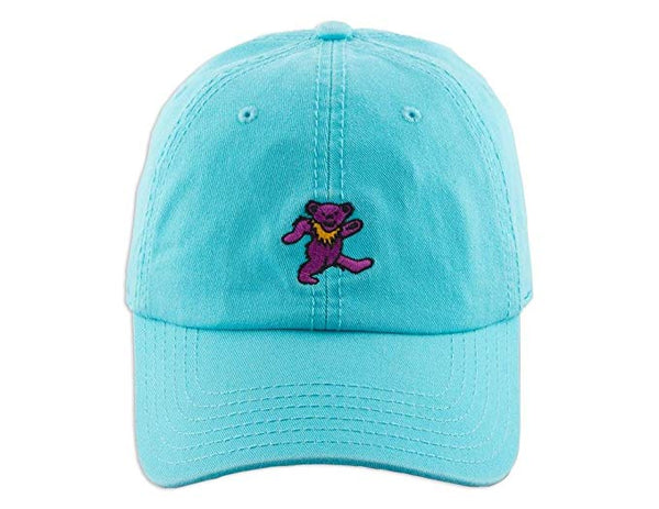 Grateful Dead Bear Blue Hat