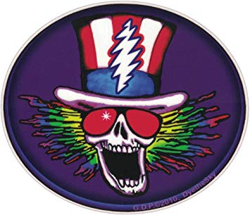 Grateful Dead Psycle Sam Sticker
