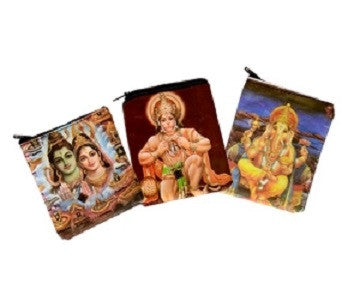 Indian Gods Coin Purse