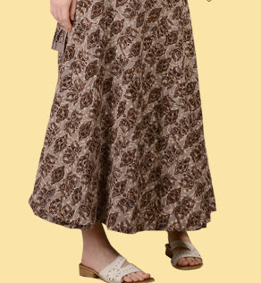 Cotton Hand Batik Wrap Skirt