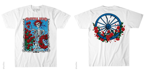 Grateful Dead Bertha Wheel and Roses T-Shirt