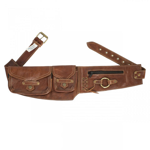 Sturdy and Secure Leather Hip Belt