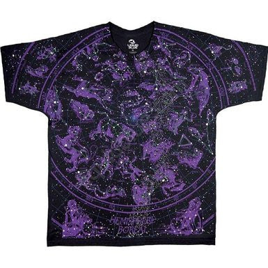 Mens Constellations Black T-shirt