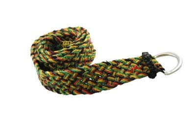 Marley Spliff Hemp Rasta Belt