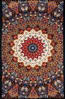 Earth Star Indian 3D Tapestry