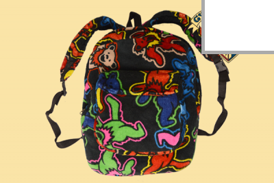 Grateful Dead Coral Fleece Backpacks