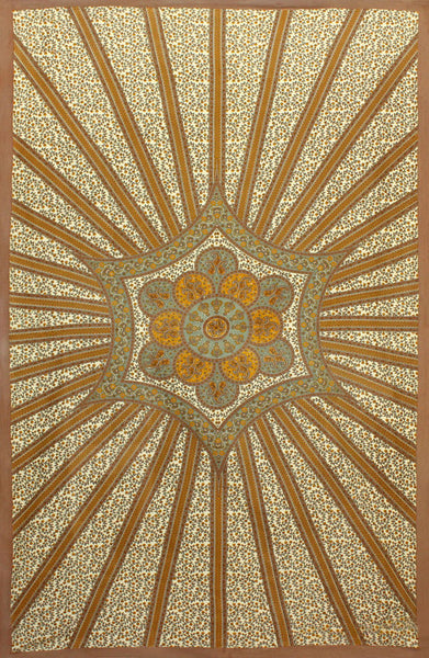 Flowering Star Tapestry