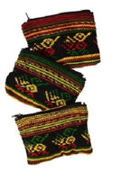 Small Rasta Tribal Pattern Coin Purse