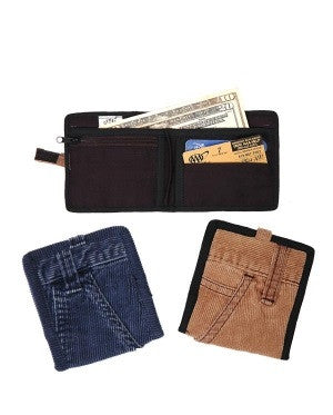 Corduroy Pants Pocket Wallet