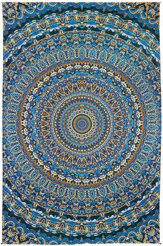 3D Harmony In Color Tapestry