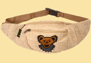 Grateful Dead Dancing Bear Embroidered Fanny Pack