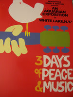 Woodstock 3 Days Poster