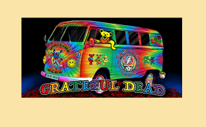 Peace Van Grateful Dead Tie Dye Beach Towel