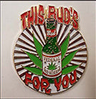This Bud Is For You Hat Pin