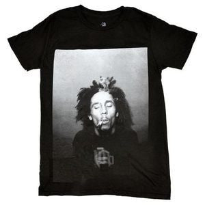 Bob Marley Black & White 420 T-shirt