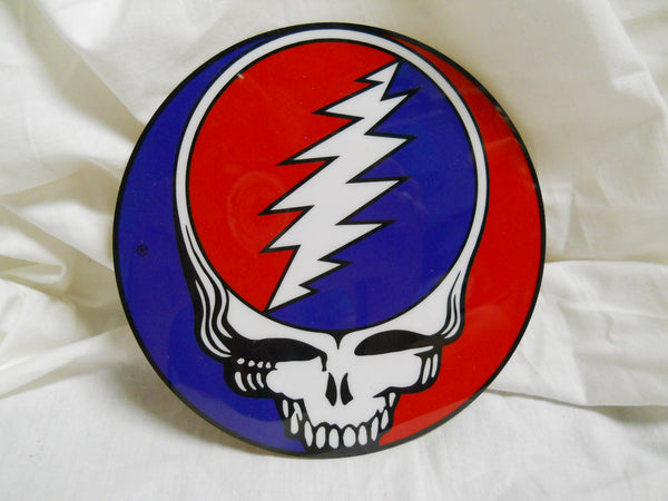 Grateful Dead Steal Your Face Mylar Sticker