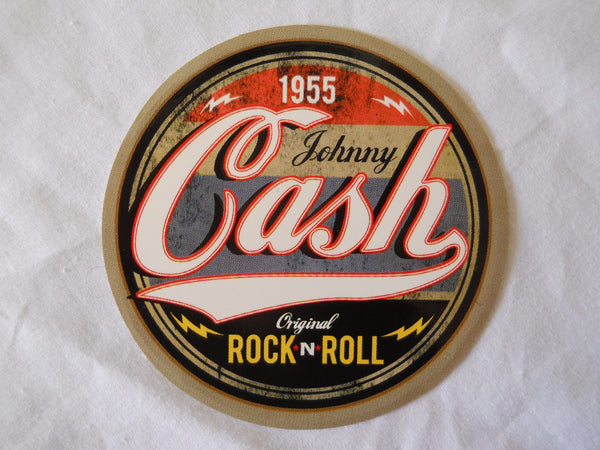 Johnny Cash 1995 Sticker