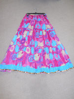 Blue/Pink Retro Skirt