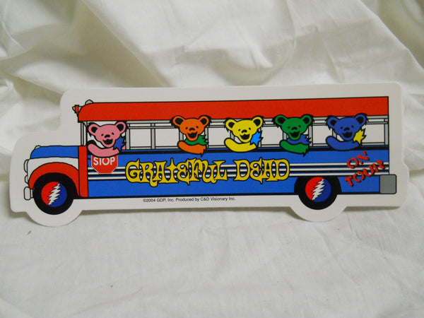Grateful Dead Bear Bus Sticker