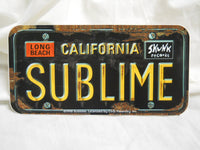 Sublime Long Beach License Plate Sticker