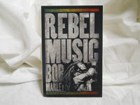 Bob Marley Rebel Music Sticker