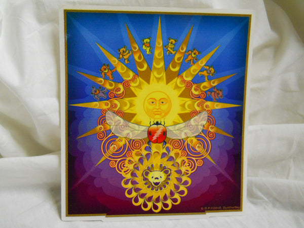 Grateful Sun Love Sticker