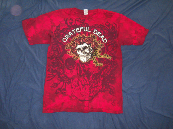 Grateful Dead Bertha Red Tie Dye T-Shirt