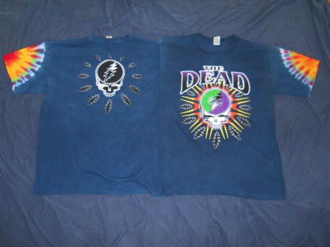 "Grateful Dead ""The Dead"" Steal Your Lightning Tie Dye T-Shirt"