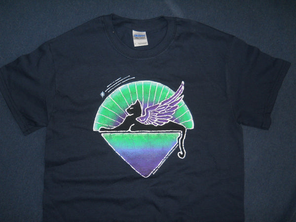 Jerry Garcia Winged Cats Under The Stars T-shirt