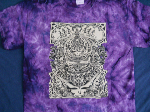 Grateful Dead Aiko Aiko Purple Tie Dye T-shirt