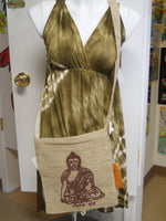 Hemp Buddha Shoulder Bag