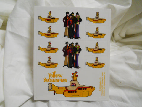 The Beatles Yellow Sumbarine Collection Sticker