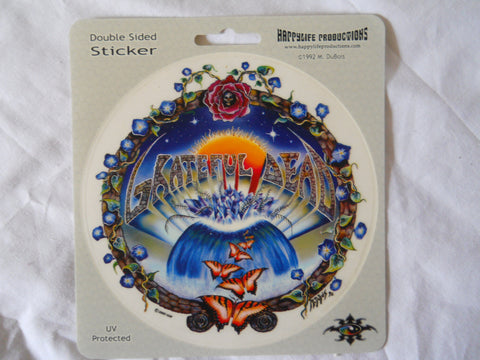 Grateful Dead Butterfly Waterfall Sticker