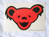 Grateful Dead Red Bear Sticker